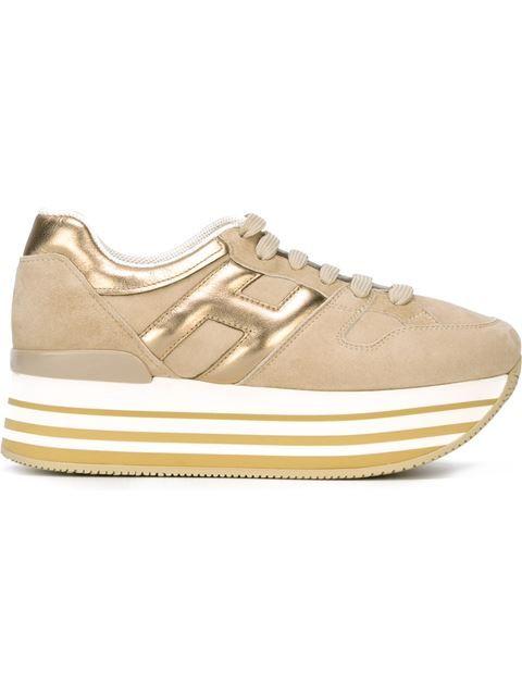 Hogan 'maxi H222' Sneakers - Parisi - Farfetch.com