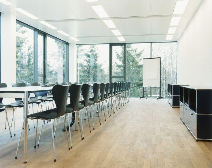Tavolo da conferenza / rettangolare / indoor / moderno - HALLER - USM Modular Furniture