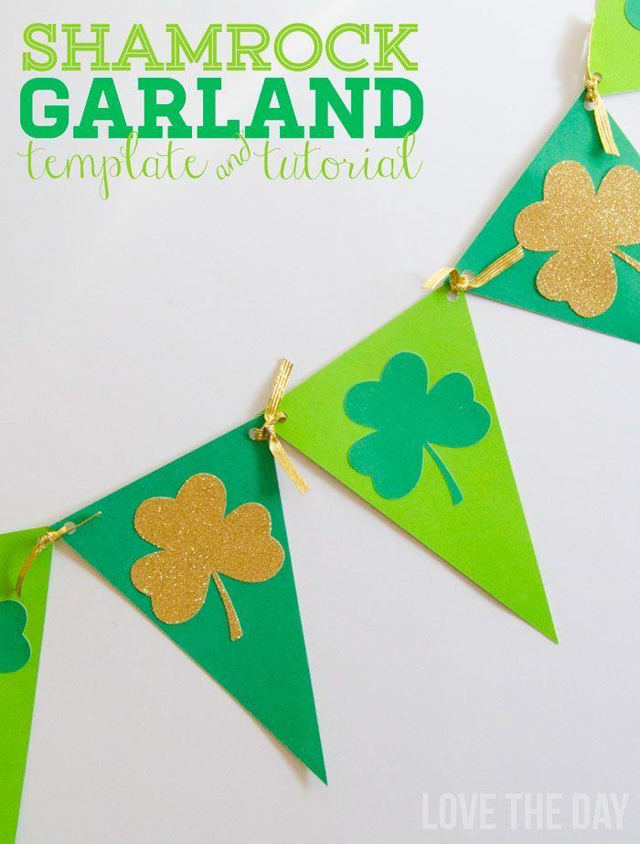 25+ Best Ideas About Shamrock Template On Pinterest | St Patricks