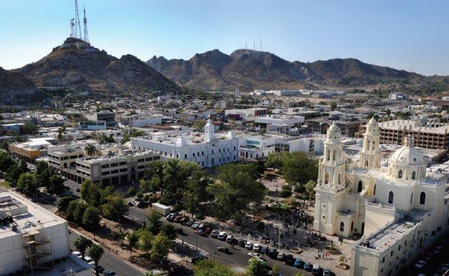 La catedral y el cerro de la campana, Hermosillo sonora. | Catedral,  Ciudades, Sonora