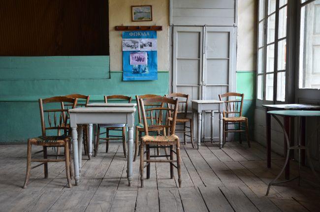 """καφενείο το """"Πανελλήνιον, Άμφισσα"""