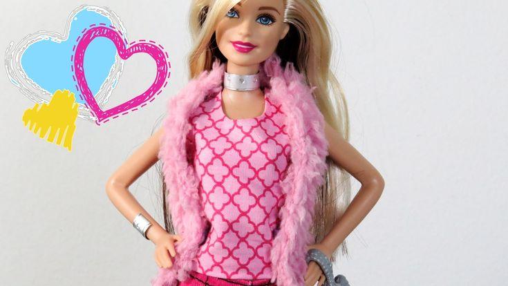Como Fazer Blusa Regata para Barbie (com ou sem costura)