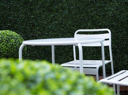 Amazon.com: Ranka Artificial Boxwood Greenery Panels - Dark Green 40x40 inches: Patio, Lawn & Garden