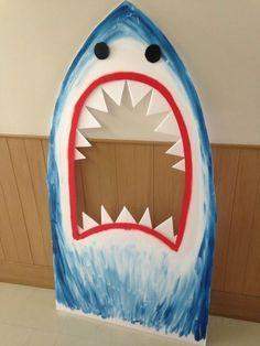 Shark Photo Booth | DIY Pool Party Ideas for Teens