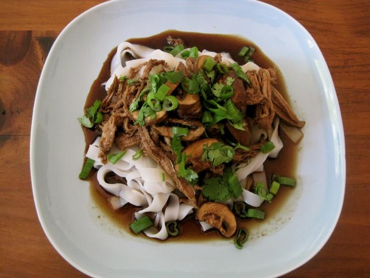 Crock Pot Asian pork with mushrooms | Food. | Pinterest