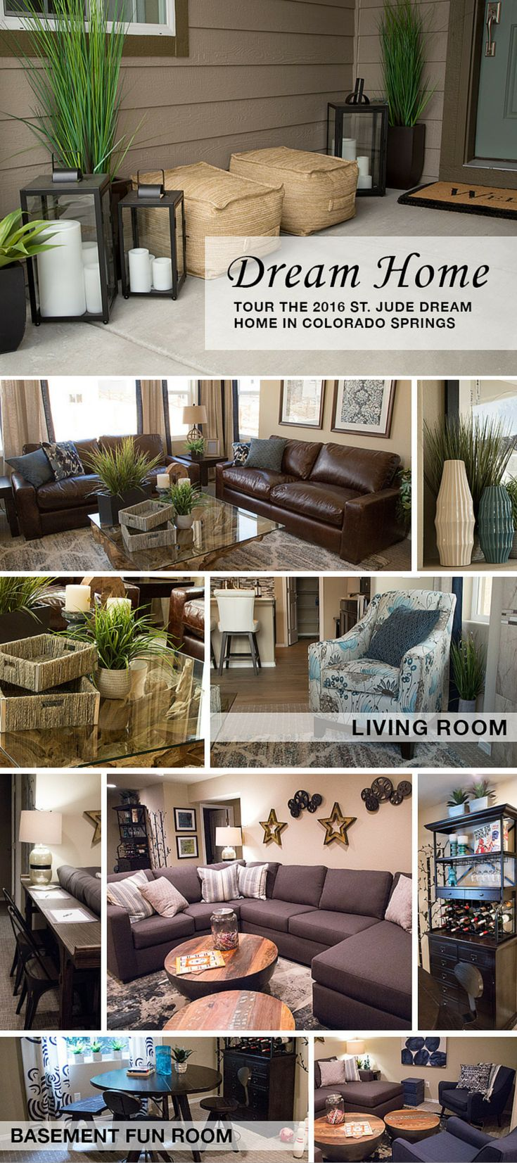Step Inside The 2016 Colorado Springs St Jude Home Living Room