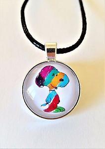 Snoopy-Necklace-Snoopy-Jewellery-Children-039-s-Jewellery-Character-Jewellery-Dog