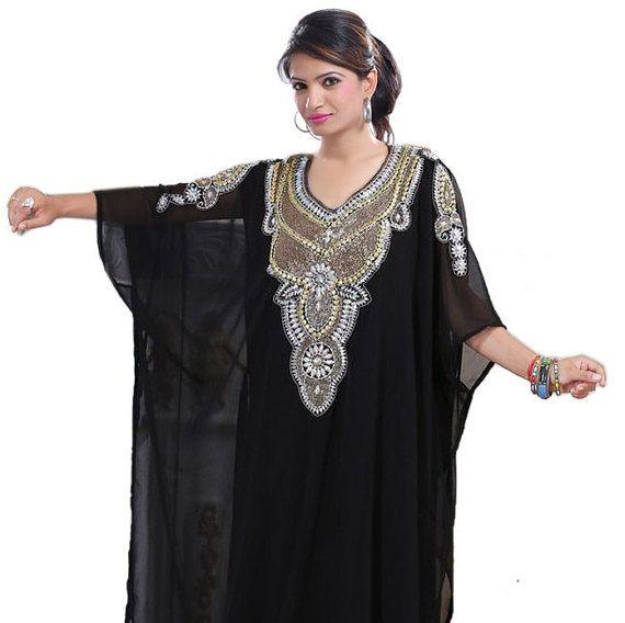Dubai very fancy kaftans / abaya jalabiya Ladies Maxi Dress