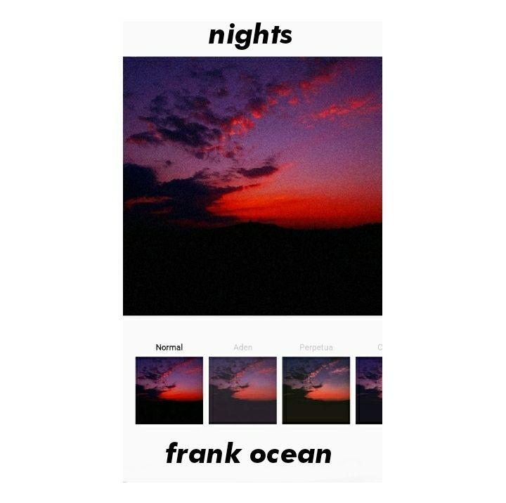 NightsFrank Ocean Frank ocean wallpaper, Frank ocean