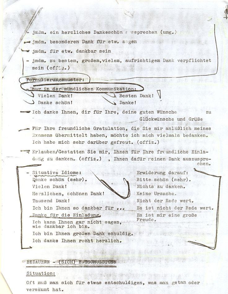 Němčina - studijní materiály