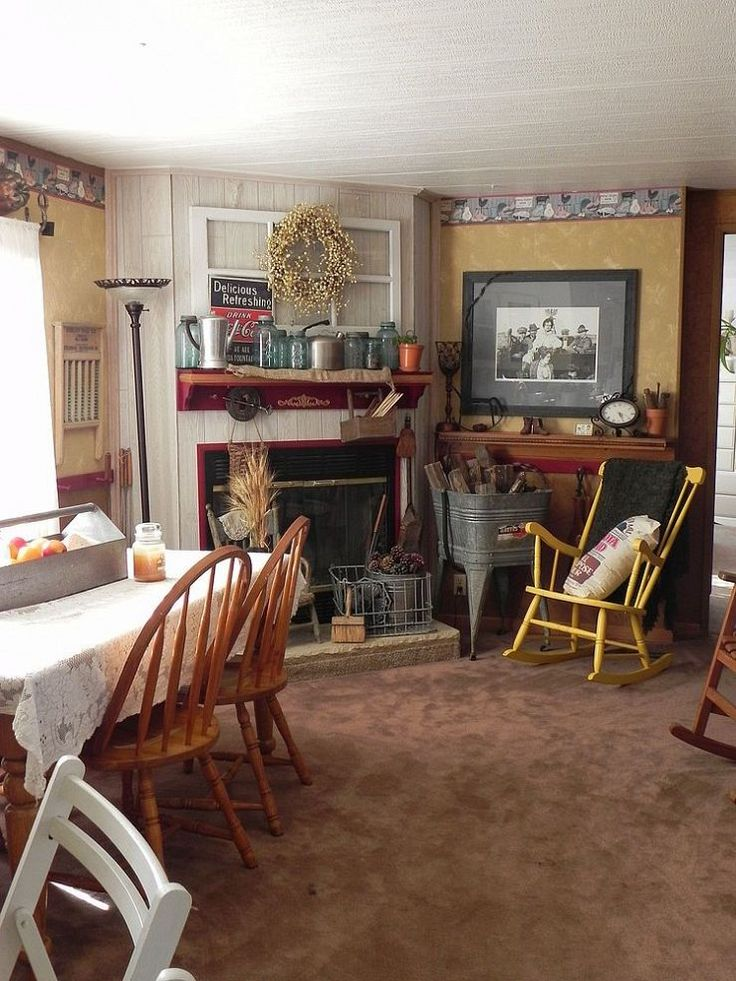 Witness the amazing makeover of a formerly drab mobile home.