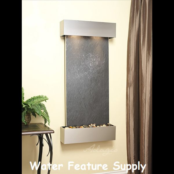 How To Integrate Interior Wall Fountains In Your Home: 1000+ Ideas About Wall Water Features On Pinterest