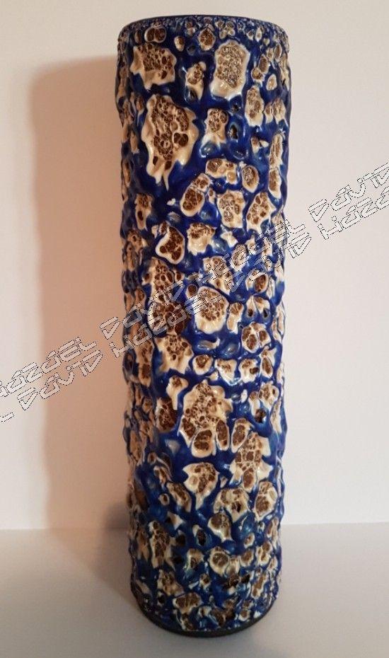 Albert Kiessling  Fat lava vase 28 cm .