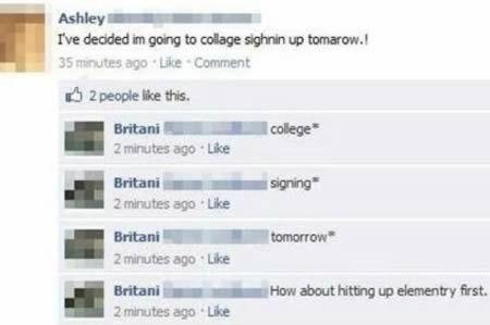 12 Hilarious Grammar Mistakes on Facebook & SMS (funny grammar mistakes, funny grammar errors) - ODDEE