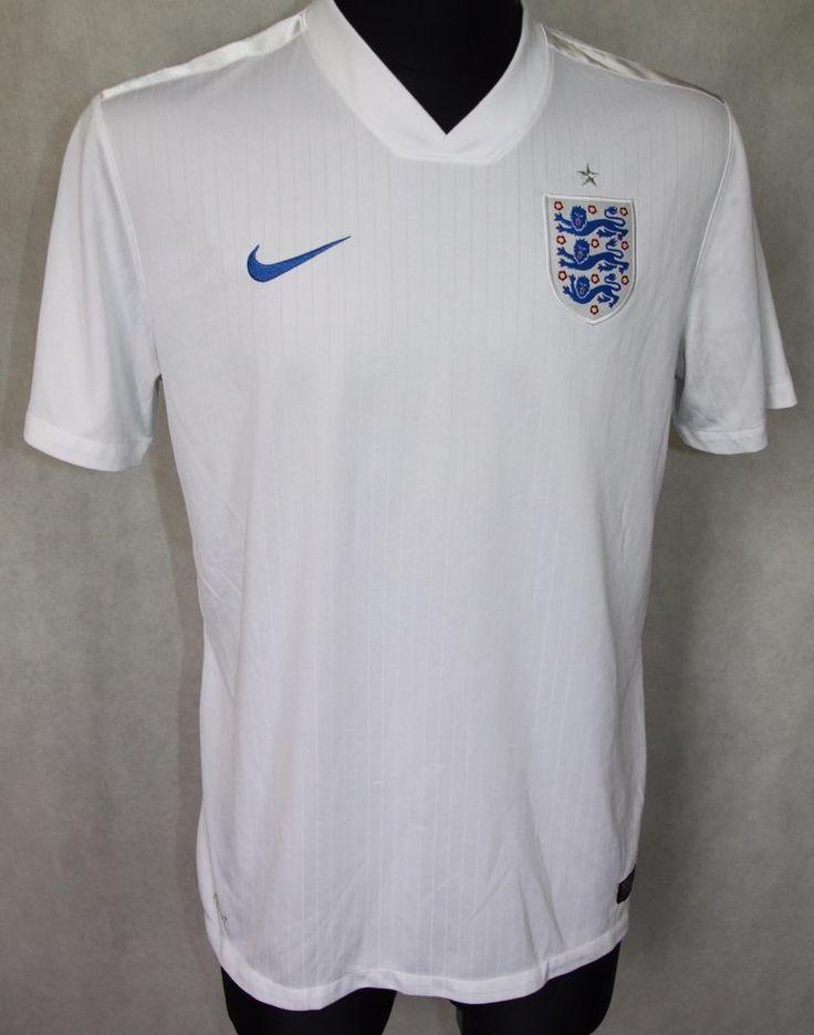 ENGLAND NATIONAL TEAM FIFA WORLD CUP 2014 HOME JERSEY SHIRT sz L LARGE (184)    eBay