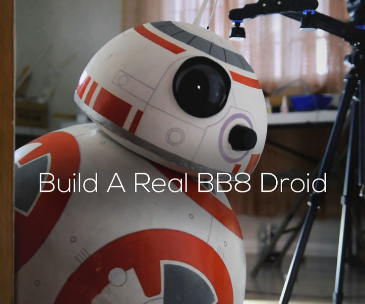 Diy life size phone controlled bb droid arduino dads