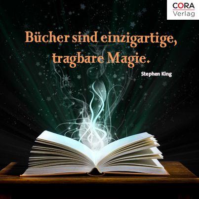 """""""Bücher sind einzigartige, tragbare Magie."""" Büchergutschein oder aus der Liste - """"Lesestoff"""""""