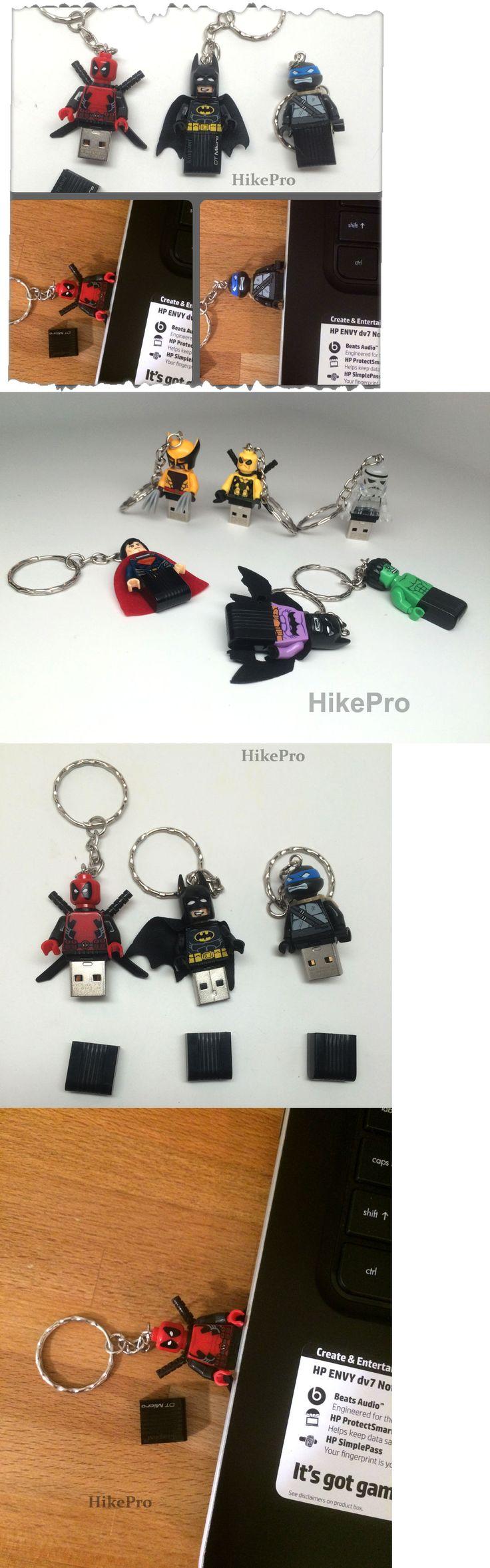 Dolls and Toys 83905: Lego Minifig Custom Usb Flash Drive Keychain Deadpool Goku Darth Vader Batman -> BUY IT NOW ONLY: $30.95 on eBay!