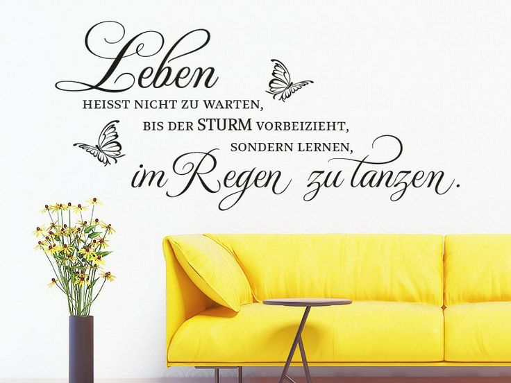 17 best images about homedeko on pinterest home projects - Tanzen spruch ...