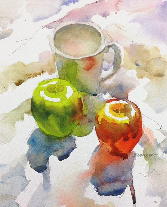 Still Life Watercolors Google Search Aquarell Watercolor