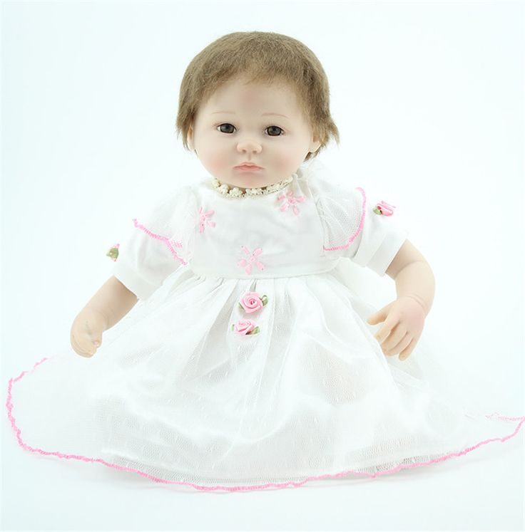 18 Inches 45cm Newborn Reborn Baby Dolls Soft Vinyl And Cotton Body Reborn Babies Lifelike Cheap Reborn Baby Dolls For Sale