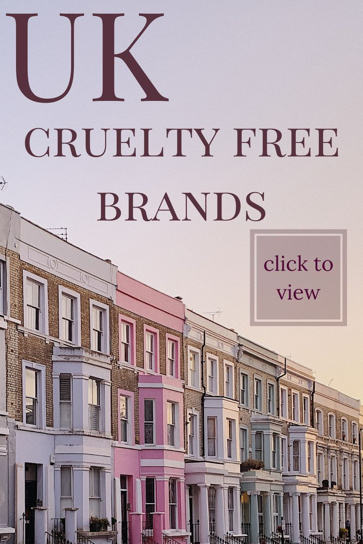UK Cruelty Free Brands in 2020 Cruelty free brands
