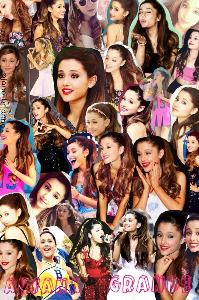 Pin em collage of Ariana Grande