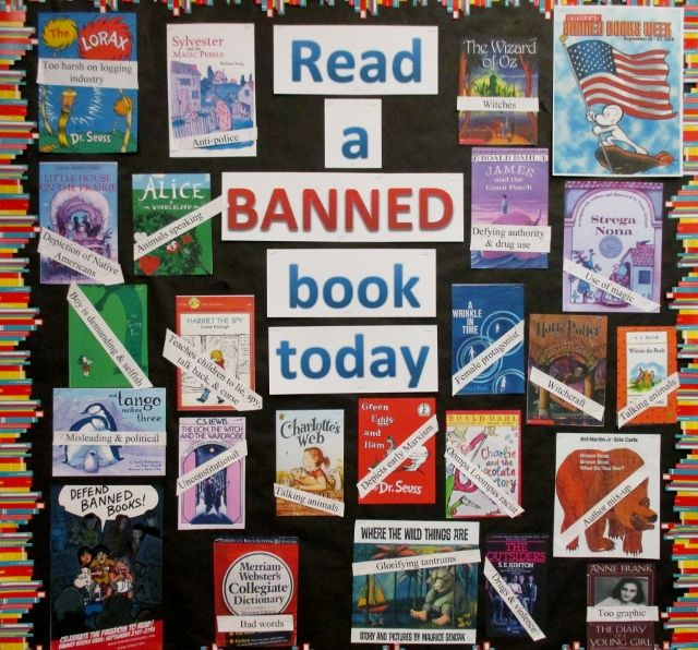 essays on banning books in school libraries The question i ask myself though is if censorship in libraries and schools is justified my answer is no censorship essays / book banning.