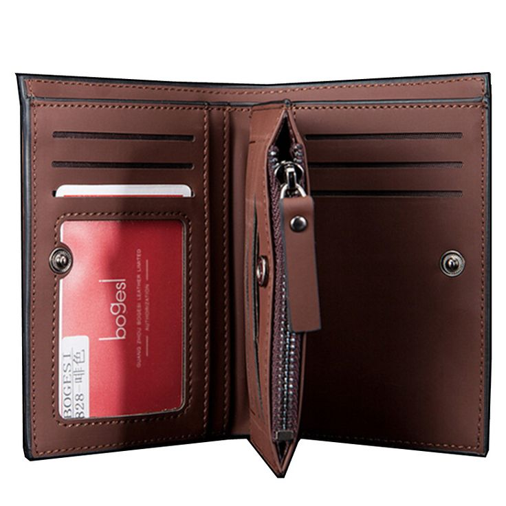 High quality Leather men's Wallets Wholesale purse leather SHORT leather wallets ,Best gift,  Free Shipping ** This is an AliExpress affiliate pin.  Details on product can be viewed on AliExpress website by clicking the VISIT button