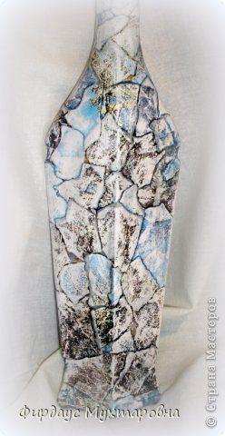 Декор предметов Мастер-класс Декупаж Каменные баночки Имитация Банки стеклянные Бумага журнальная фото 15