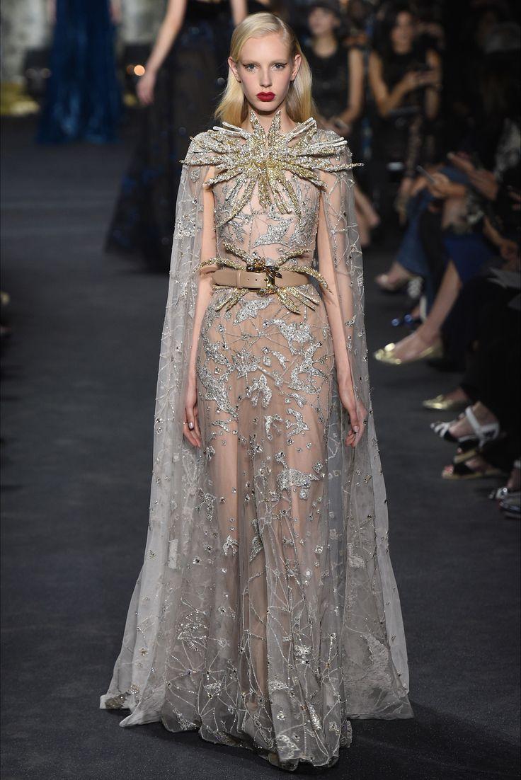 Sfilata Elie Saab Parigi - Alta Moda Autunno-Inverno 2016-17 - Vogue