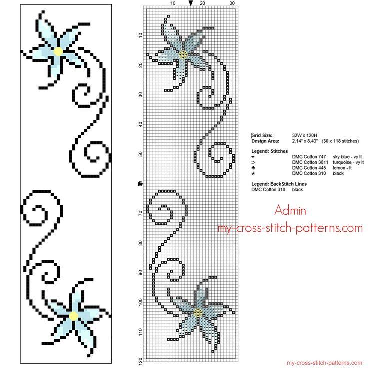 cross stitch bookmark - Google'da Ara