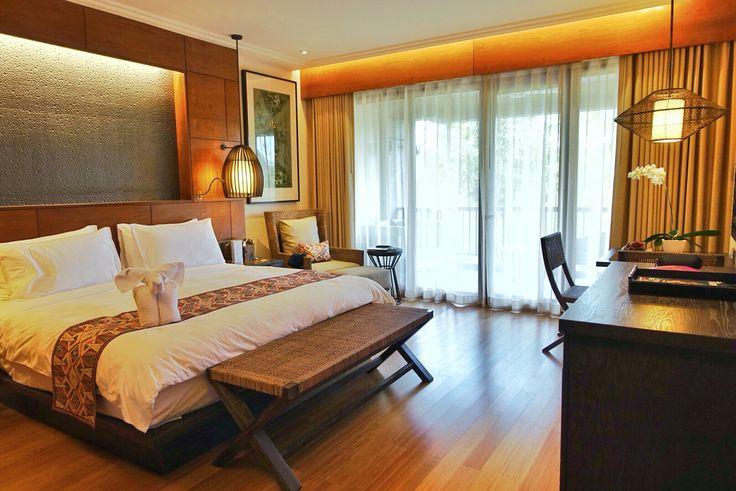 Bedroom at Padma Ubud. #MilesHumphreysArchitect