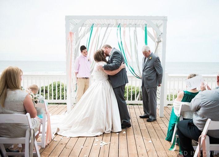 Ancd In Love Rachael Todd Wedding Oak Island Nc St James Plantation