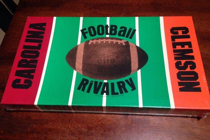 Clemson Carolina Football Rivalry Board Game 1984 | #1836881013