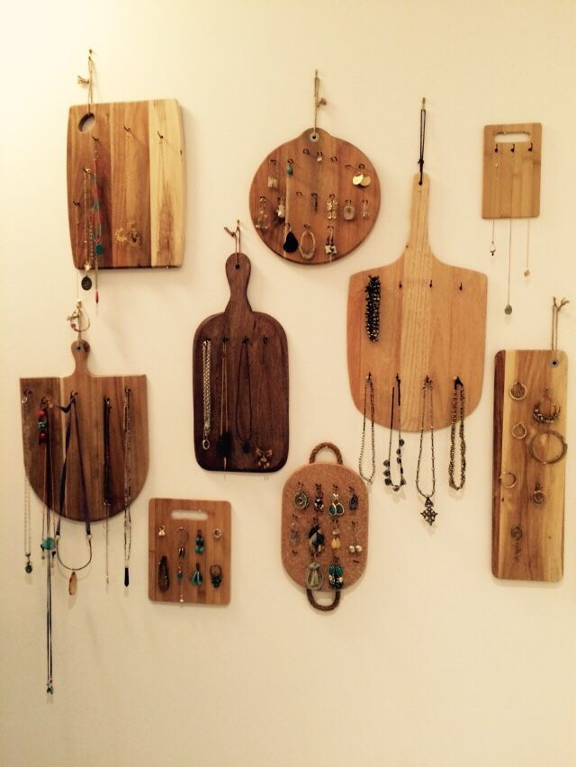 All about the accessories - jewelry boards