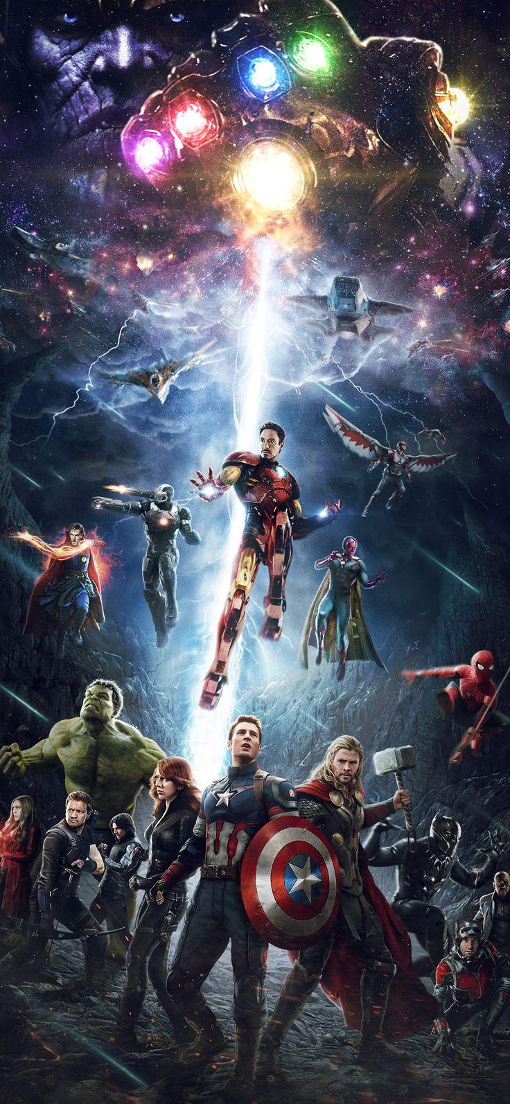 be83-marvel-infinitywar-avengers-hero-art via iPhoneXpapers.com - Wallpapers for...