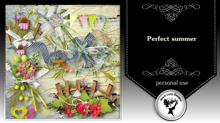 Perfect summer - clusters by Black Lady Designs