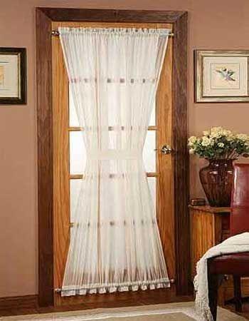 Best  Door Panel Curtains Ideas On Pinterest Sliding Door - Front door curtain