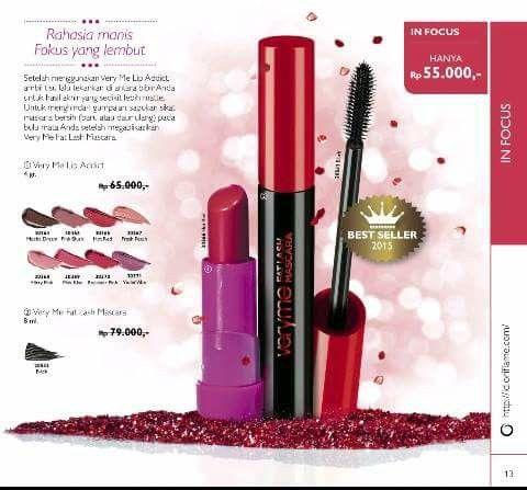 Lipstik dan maskara