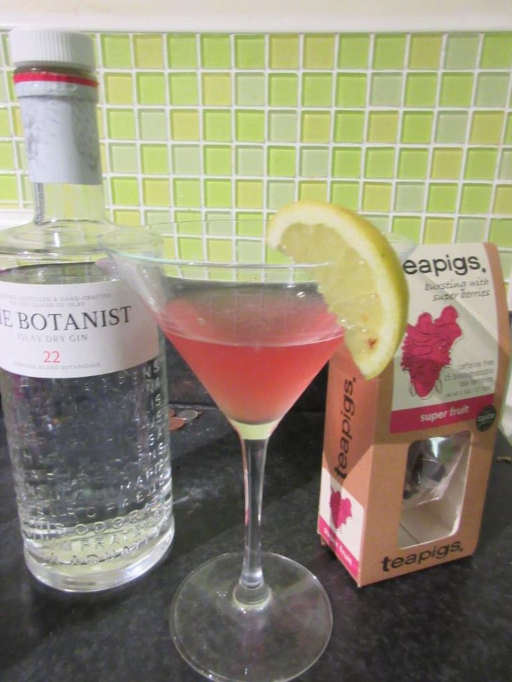 It's Tea Cocktail Hour in Yorkshire with @Bruichladdich Gin. Great recipe @teapigs #Superfruit