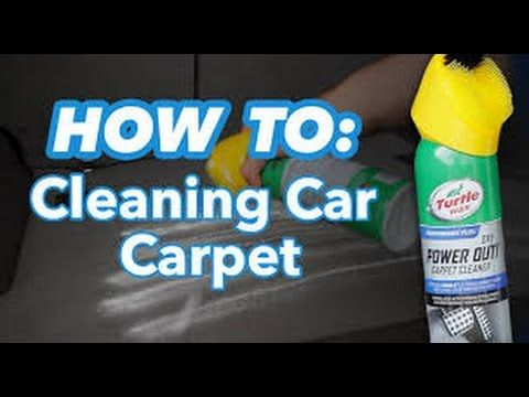 Do you want to know How to clean car carpet in this tutorial you will learn that it is possible to clean car carpets yourself the chemicals used in the video...