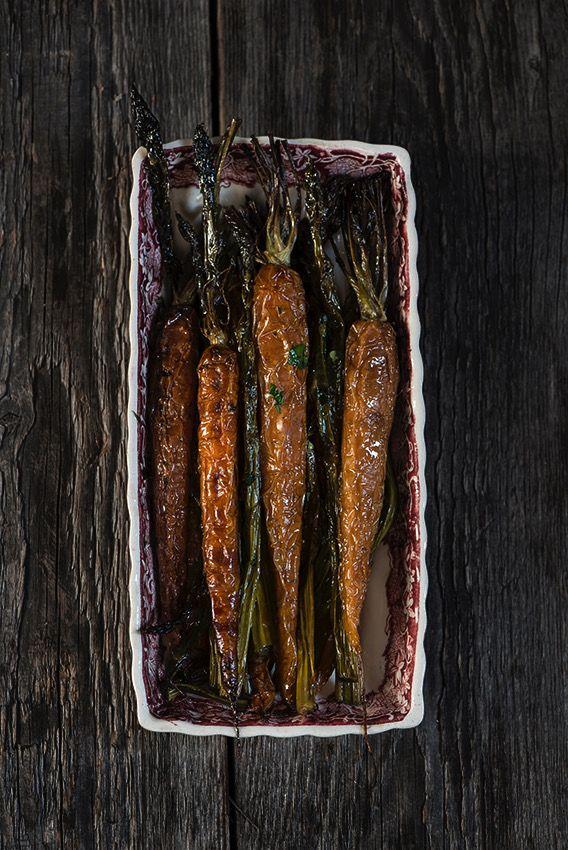 #evoo maple glazed roasted carrots #foodphotography #foodstyling