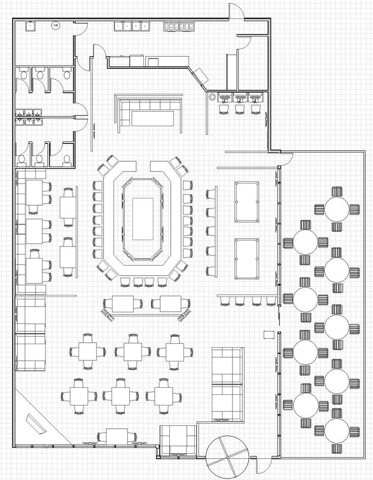 Best 25 restaurant plan ideas on pinterest restaurant for Restaurant layout floor plan samples