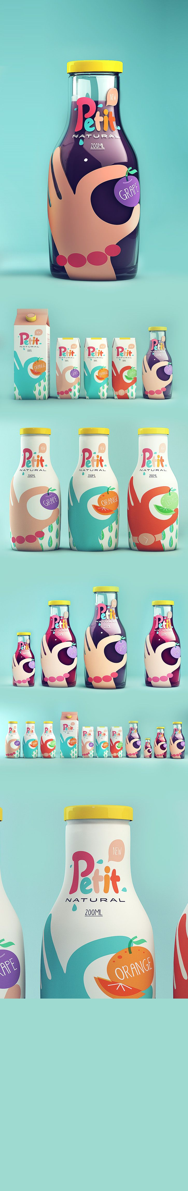 here you go Sheila, Isabela Rodrigues→Petit - Natural Juice #packaging PD