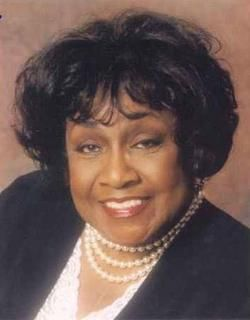 """Actress ISABEL SANFORD was the first African-American woman to receive an emmy for Best Actress in a Comedy Series for her work in """"The Jeffersons."""""""