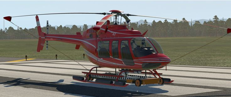 The DreamFoil Creations Bell 407 features list and price are set. Are you a current owner of the XP 10 version? You're up for a nice surprise, then.