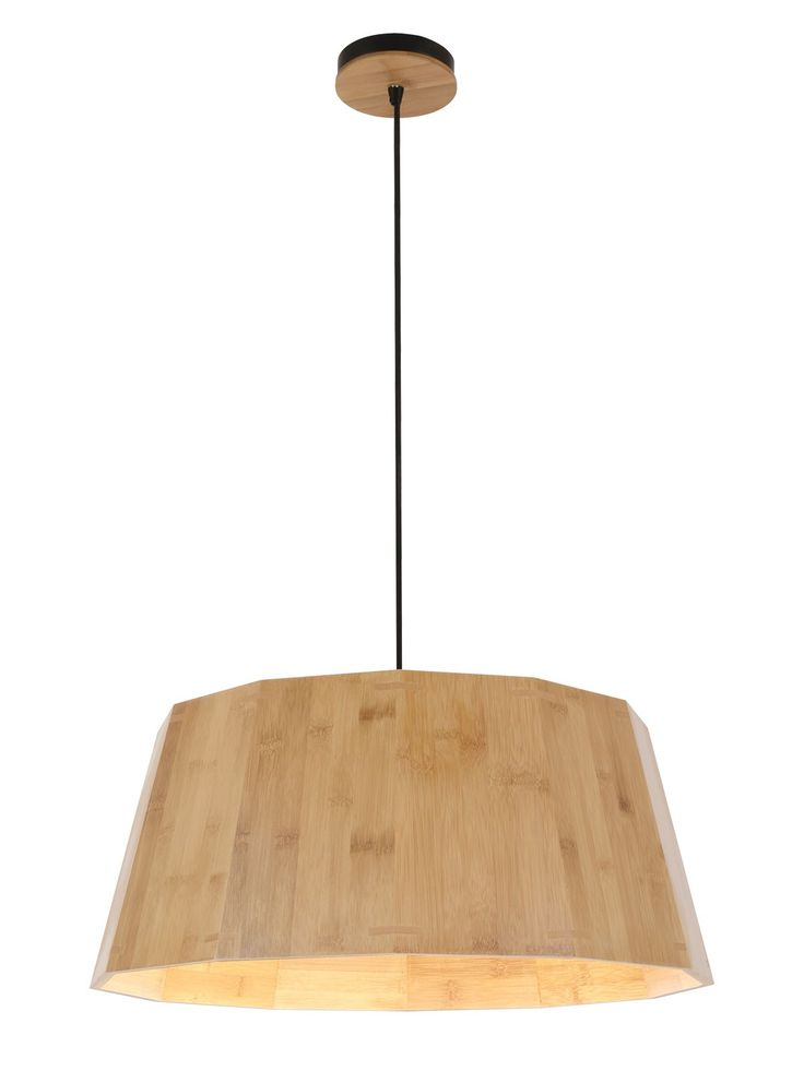 Grove Large Pendant in Bamboo