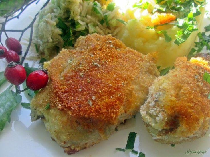 Gosia gotuje: Kurczak w kokosowej panierce