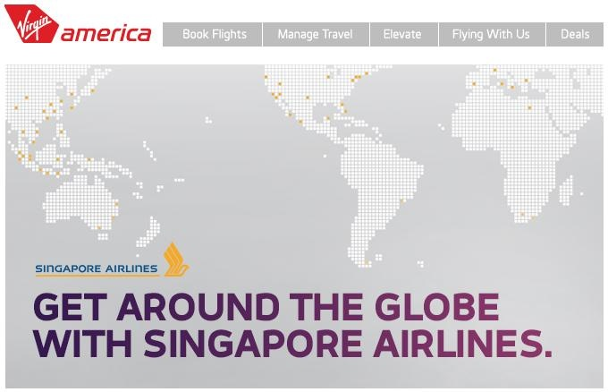 MichaelW Travels...: Win A Flight For Two on Singapore Air & Earn 500 Virgin Elevate Miles